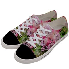 Flowers Bouquet Wedding Art Nature Women s Low Top Canvas Sneakers by Nexatart
