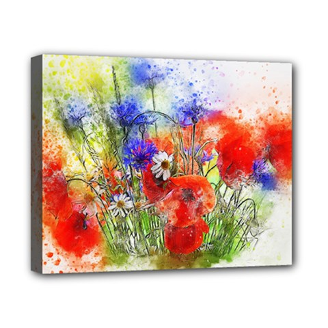 Flowers Bouquet Art Nature Canvas 10  X 8  by Nexatart