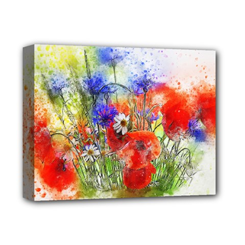 Flowers Bouquet Art Nature Deluxe Canvas 14  X 11