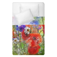 Flowers Bouquet Art Nature Duvet Cover Double Side (single Size) by Nexatart