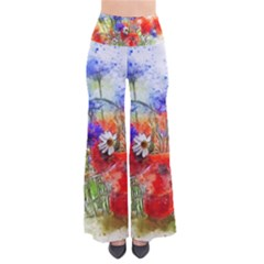 Flowers Bouquet Art Nature Pants