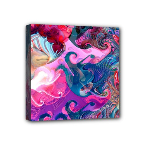Background Art Abstract Watercolor Mini Canvas 4  X 4