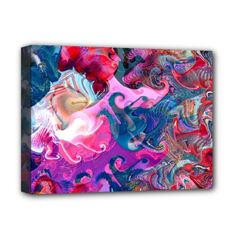 Background Art Abstract Watercolor Deluxe Canvas 16  X 12