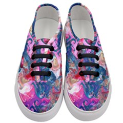 Background Art Abstract Watercolor Women s Classic Low Top Sneakers