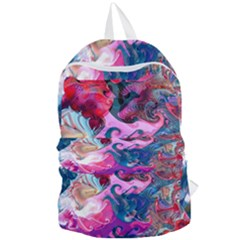 Background Art Abstract Watercolor Foldable Lightweight Backpack by Nexatart