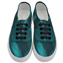 Background Sphere Ball Metal Blue Women s Classic Low Top Sneakers
