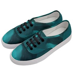 Background Sphere Ball Metal Blue Women s Classic Low Top Sneakers by Nexatart