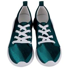 Background Sphere Ball Metal Blue Women s Lightweight Sports Shoes
