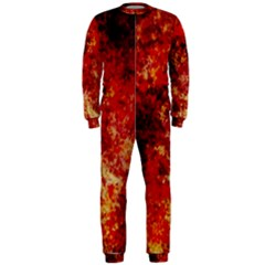 Background Art Abstract Watercolor Onepiece Jumpsuit (men)