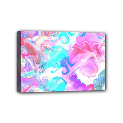 Background Art Abstract Watercolor Pattern Mini Canvas 6  X 4