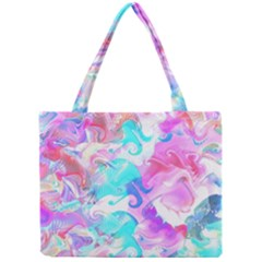 Background Art Abstract Watercolor Pattern Mini Tote Bag