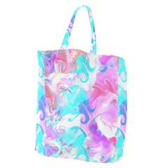 Background Art Abstract Watercolor Pattern Giant Grocery Zipper Tote by Nexatart