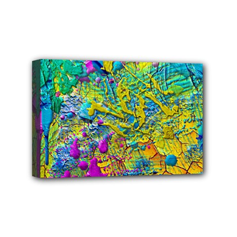 Background Art Abstract Watercolor Mini Canvas 6  X 4