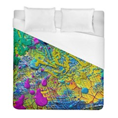 Background Art Abstract Watercolor Duvet Cover (full/ Double Size)