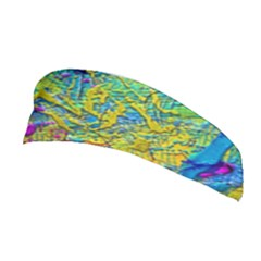 Background Art Abstract Watercolor Stretchable Headband