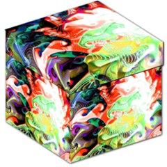 Background Art Abstract Watercolor Storage Stool 12