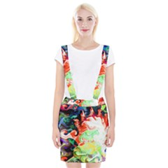 Background Art Abstract Watercolor Braces Suspender Skirt