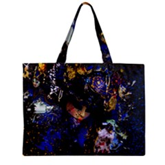 Mask Carnaval Woman Art Abstract Zipper Mini Tote Bag