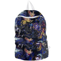 Mask Carnaval Woman Art Abstract Foldable Lightweight Backpack by Nexatart