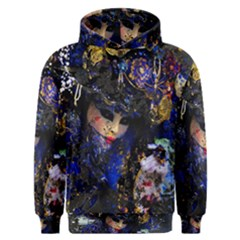Mask Carnaval Woman Art Abstract Men s Overhead Hoodie