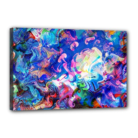 Background Art Abstract Watercolor Canvas 18  X 12