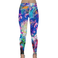 Background Art Abstract Watercolor Classic Yoga Leggings
