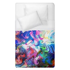 Background Art Abstract Watercolor Duvet Cover (single Size) by Nexatart