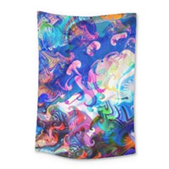 Background Art Abstract Watercolor Small Tapestry