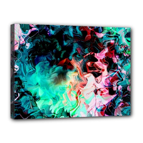 Background Art Abstract Watercolor Canvas 16  X 12