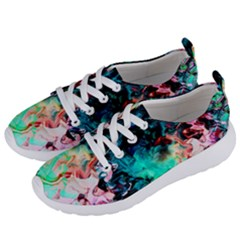 Background Art Abstract Watercolor Women s Lightweight Sports Shoes by Nexatart