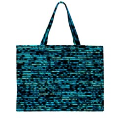 Wall Metal Steel Reflexions Zipper Large Tote Bag