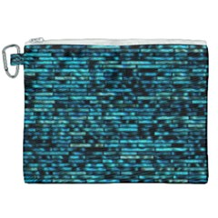 Wall Metal Steel Reflexions Canvas Cosmetic Bag (xxl) by Nexatart
