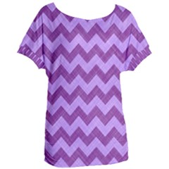 Background Fabric Violet Women s Oversized Tee