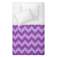 Background Fabric Violet Duvet Cover (single Size)