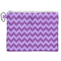 Background Fabric Violet Canvas Cosmetic Bag (xxl) by Nexatart