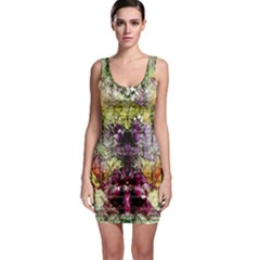 Background Art Abstract Watercolor Bodycon Dress