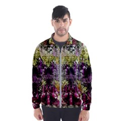 Background Art Abstract Watercolor Wind Breaker (men)