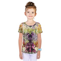 Background Art Abstract Watercolor Kids  One Piece Tee by Nexatart