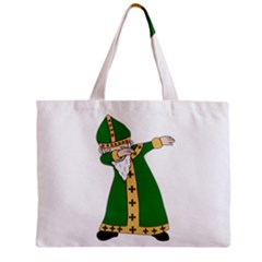 St  Patrick  Dabbing Zipper Mini Tote Bag by Valentinaart