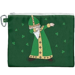 St  Patrick  Dabbing Canvas Cosmetic Bag (xxxl) by Valentinaart