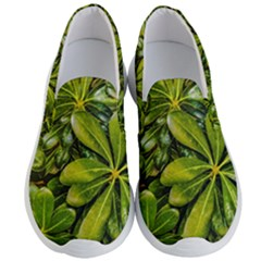 Top View Leaves Men s Lightweight Slip Ons by dflcprints
