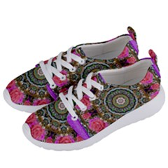 Roses In A Color Cascade Of Freedom And Peace Women s Lightweight Sports Shoes by pepitasart