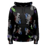 Dragons and Clouds Women s Pullover Hoodie