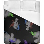 Dragons and Clouds Duvet Cover (California King Size)