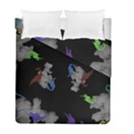 Dragons and Clouds Duvet Cover Double Side (Full/ Double Size)
