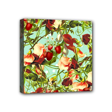 Fruit Blossom Mini Canvas 4  X 4  by snowwhitegirl