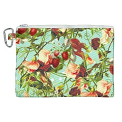 Fruit Blossom Canvas Cosmetic Bag (xl)