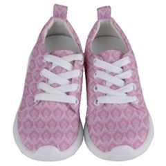Damask Pink Kids  Lightweight Sports Shoes