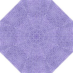 Knitted Wool Lilac Folding Umbrellas
