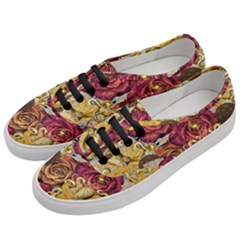 Octopus Floral Women s Classic Low Top Sneakers by snowwhitegirl